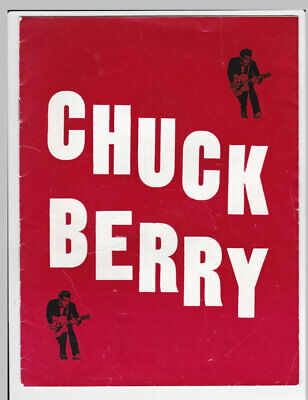 Chuck Berry circa 1964 UK Concert Programme with The Animals and Carl Perkins