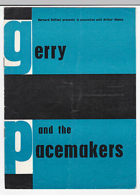 Gerry and the Pacemakers circa 1964 UK Concert Programme