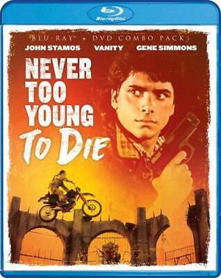 Never Too Young To Die , Blu-Ray & Dvd ,Shout Factory ,Robert Englund , Oop