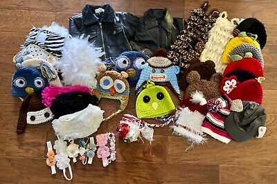 6-18 month baby photography prop hat 37 piece lot