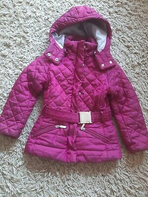 Girls 4years Purple Pink Geox All Weather Jacket