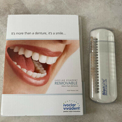 Ivoclar Vivadent BlueLine Esthetic Denture Teeth - Shade Guide and Mould Charts