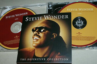 STEVIE WONDER  **   THE DEFINITIVE COLLECTION   **  2x CD ALBUM   **   38 TRACKS