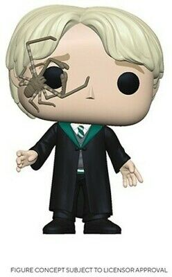 Malfoy W/ Whip Spider - Funko Pop! Harry Potter: (2020, Toy NUEVO)