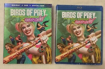 BIRDS OF PREY (Blu-ray + DVD + Digital, 2020) Slipcover; NEW SEALED COMPLETE