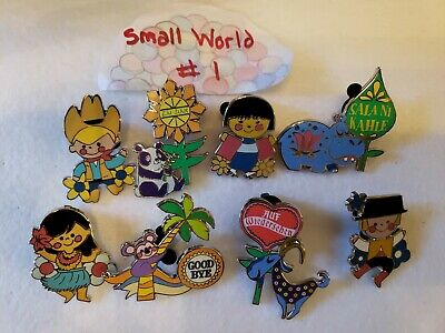 It's a Small World #1 -  Disney Pin Lot of 8