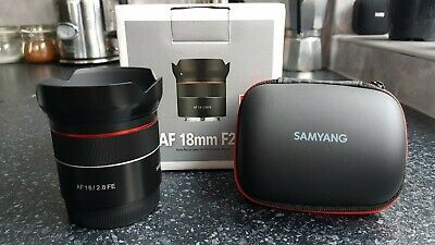 SAMYANG AF 18MM F2.8 for SONY FE MOUNT LENS USED ONCE PERFECT CONDITION