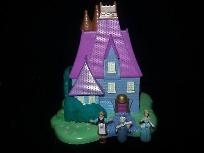 EUC 100% Vintage Disney Polly Pocket Cinderella Stepmothers House 1995
