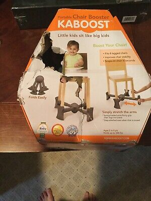 KABOOST Portable Chair Booster Lightweight  Goes Under Chair