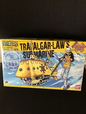 Bandai ONE PIECE Grand ship Collection Trafalgar Law Submaine Model kit Japan