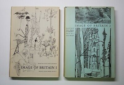 The Texas Quarterly Image Of Britain Volumes I & 2 1961 Special Issue Hardcovers