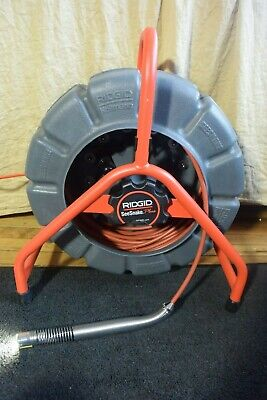 Ridgid SeeSnake Mini Self Leveling Picture 200' 512Hz Counter Plus NEVER USED