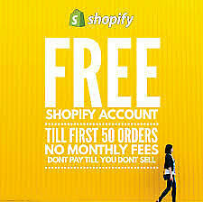 SHOPIFY UNLIMITED ACCOUNT + PREMIUM THEME And NO Monthly FEES📩 instant delivery