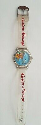 "Curious George ""Gone Fishing"" wrist watch - Made by One in a Million Never worn"