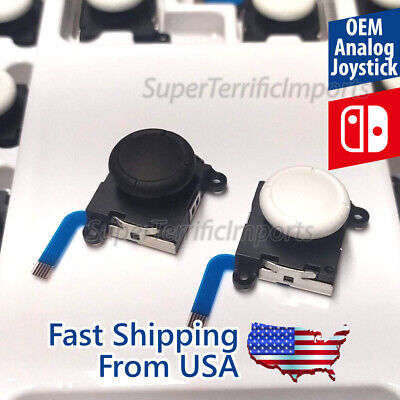 New OEM Original Analog Stick for Nintendo Switch Joy-con & Lite Joystick White