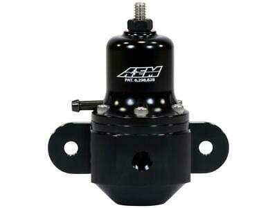 AEM High Cap Universal Adjustable Fuel Pressure Regulator 25-305BK *UK STOCK*