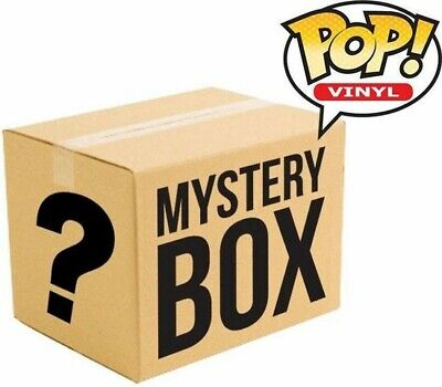 Funko Pop! Mystery Lot -$100 GURANTEED VALUE- Chase, Grails, Exclusives, Commons
