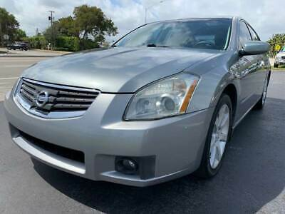 2007 Nissan Maxima 3.5 SE 4dr Sedan 2007 Nissan Maxima 3.5 SE Leather Coin Slot Moon Roof Florida Owned Drives Great