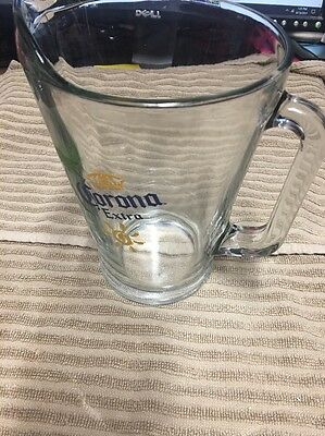 Corona Extra Pub Beer Glass Pitcher