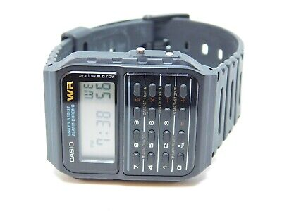 Casio CA-53W 3208 Calculator Quartz Digital Unisex Watch
