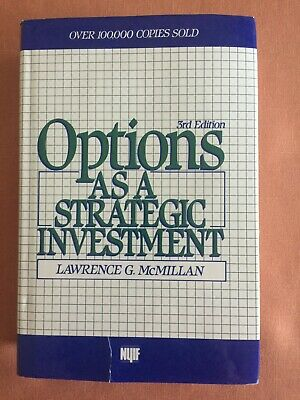 Options AS A STRATEGIC INVESTMENT 3rd Edition Lawrence McMillian *Stock Market