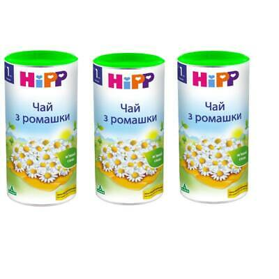 3X Hipp Infant Tea with Chamomile from 1 month each 200g/7oz