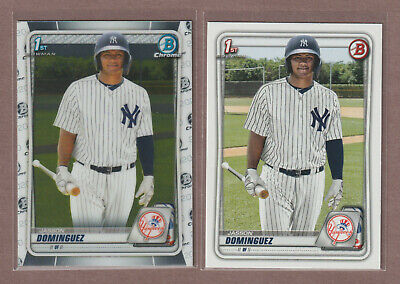 2020 Bowman COMPLETE PROSPECT + PROSPECT CHROME + Base Vet Paper SET 400 Cards