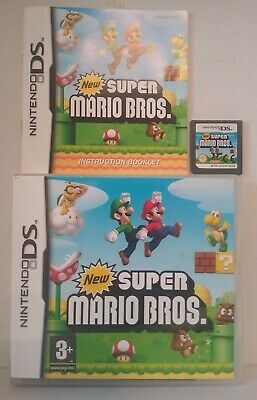 Nintendo DS SUPER MARIO BROS CONSOLE GAME