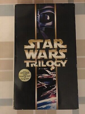 Star Wars Trilogy Special Edition 6 Disc VCD Video Cd Box Set Rare Complete