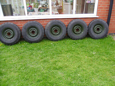 Land Rover ex mil early 90/110 Wheels and Tyres