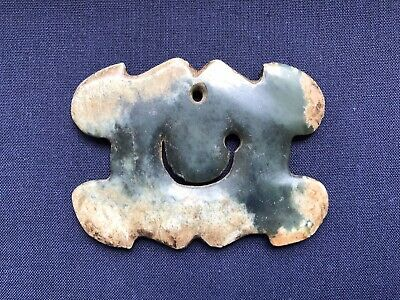 Chinese Jade Plaque Hongshan Style probably Neolithic or later