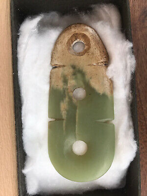 Chinese Jade Plaque probably Neolithic or later