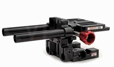 Zacuto DSLR Rig Baseplate with Gorilla Top Plate for Cine Camera Rig