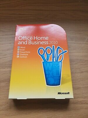 Microsoft Office 2010 - Home and Business - DVD, case and COA