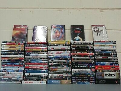 123 New & Sealed Dvds Boxsets Job Lot - Kids Marvel Disney Aladdin Avengers