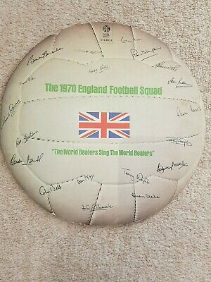The 1970 England Football Squad The World Beaters Sing Vinyl Lp