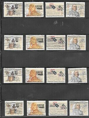 U S Stamps Used 2779 - 2782 Postal History Museum One(1) Of These Vf Sets