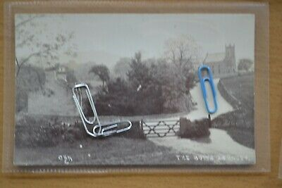The Butts Ashover, Chesterfield, Real Photographic Postcard.Published by Nadin