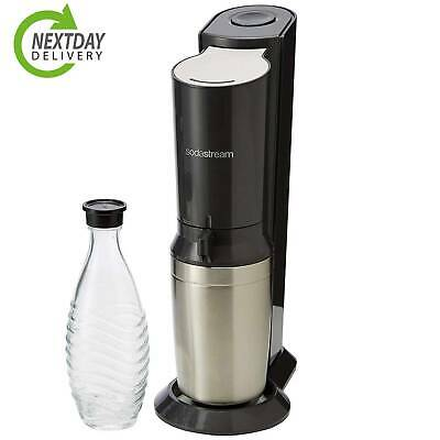 SodaStream Crystal Sparkling Water Maker black with 0.6 sparkling water dispense