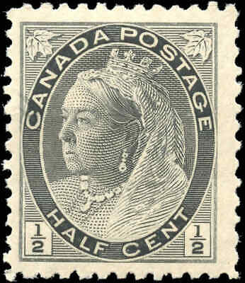 1898 Mint NH Canada F+ Scott #74 1/2c Queen Victoria Numeral Issue Stamp