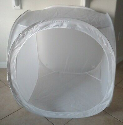 Light Tent Photo Studio LARGE Soft Box Square Cube + BACKDROP 33 INCHES