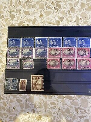 Collection Of Great Britain Mint South Africa Postage Stamps A06