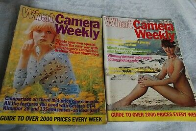 What Camera Weekly Magazine Vol. 1 Nos. 16 & 17, August 2 & August 9 1980.