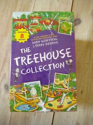 The Treehouse Collection Andy Griffiths Storey Treehouse Series Box Set 8 Books