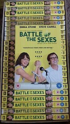 25 X Battle Of The Sexes  - Dvd - New Sealed - Joblot