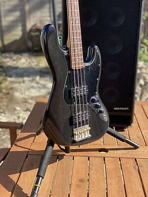 Fender Modern Player Jazz Bass HH Translucent Black 2013 Light Relic