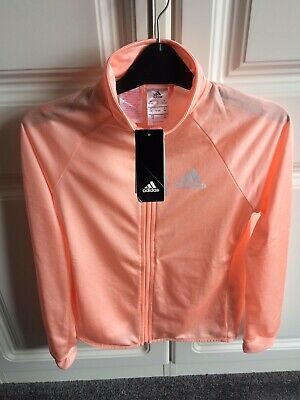 Girls Adidas Lightweight Tracksuit Top, Age 13-14 Years, Brand New Tags Attached