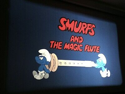 """35 mm feature """"THE SMURFS AND THE MAGIC FLUTE"""""""