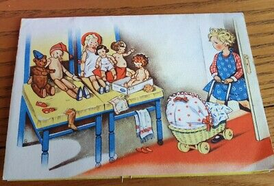 Authentic 1930's Children's Pop Up Sewing Kit