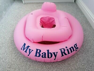 Inflatable Baby Swim Ring Pink